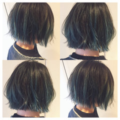 外国人風カラー 外国人風 ブリーチ アッシュ ヘアスタイルや髪型の写真・画像