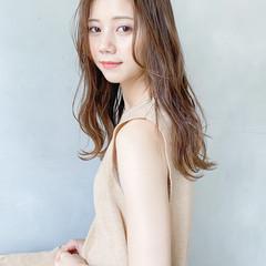 ロング 大人かわいい 透明感 ガーリー ヘアスタイルや髪型の写真・画像