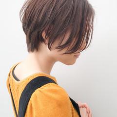 デート ショート 大人かわいい アンニュイほつれヘア ヘアスタイルや髪型の写真・画像