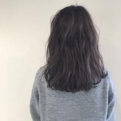 ナチュラル ニュアンス デート ゆるふわ ヘアスタイルや髪型の写真・画像