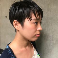 ヘアアレンジ 簡単ヘアアレンジ 透明感 ショート ヘアスタイルや髪型の写真・画像
