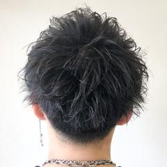 刈り上げ ショート メンズ メンズカット ヘアスタイルや髪型の写真・画像