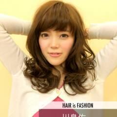 フェミニン ロング コンサバ モテ髪 ヘアスタイルや髪型の写真・画像
