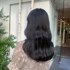韓国風ヘアー エレガント 韓国ヘア ヨシンモリ ヘアスタイルや髪型の写真・画像
