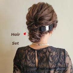 エレガント 結婚式ヘアアレンジ ヘアアレンジ 結婚式アレンジ ヘアスタイルや髪型の写真・画像