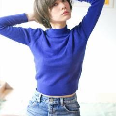 大人かわいい ショート モード ナチュラル ヘアスタイルや髪型の写真・画像