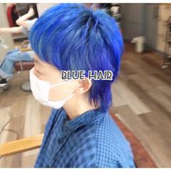 ブルージュ ショートヘア ショート ウルフカット ヘアスタイルや髪型の写真・画像