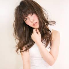 愛され 外国人風 おフェロ ロング ヘアスタイルや髪型の写真・画像