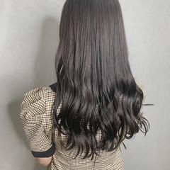 大人女子 暗髪 黒髪 ナチュラル ヘアスタイルや髪型の写真・画像