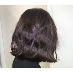 外ハネ 大人女子 モード ボブ ヘアスタイルや髪型の写真・画像