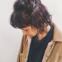 外国人風 パーマ ストリート 外ハネ ヘアスタイルや髪型の写真・画像