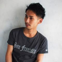 坊主 社会人 ウェットヘア 黒髪 ヘアスタイルや髪型の写真・画像