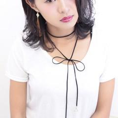 ダブルカラー 外国人風 暗髪 アッシュ ヘアスタイルや髪型の写真・画像