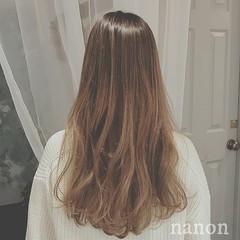 エレガント ゆるふわ アンニュイ ロング ヘアスタイルや髪型の写真・画像