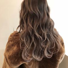 外国人風カラー ロング ハイライト ストリート ヘアスタイルや髪型の写真・画像
