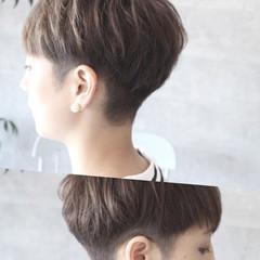 坊主 モード ショート 色気 ヘアスタイルや髪型の写真・画像