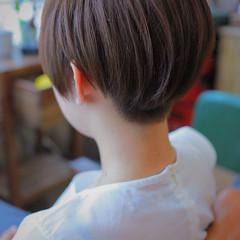 ベリーショート ショート 刈り上げショート ショートボブ ヘアスタイルや髪型の写真・画像