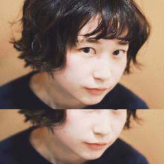 アッシュ 黒髪 外国人風 ストリート ヘアスタイルや髪型の写真・画像
