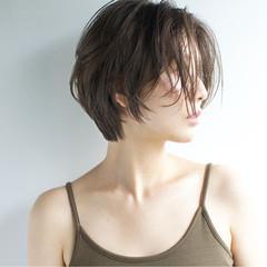 ストリート ボブ 大人女子 色気 ヘアスタイルや髪型の写真・画像