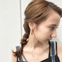 ヘアアレンジ 簡単ヘアアレンジ デート 冬 ヘアスタイルや髪型の写真・画像