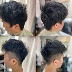 ツーブロック スキンフェード ベリーショート メンズカット ヘアスタイルや髪型の写真・画像