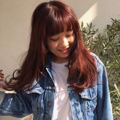 外国人風 ストリート レイヤーカット 大人かわいい ヘアスタイルや髪型の写真・画像
