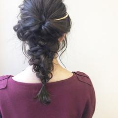上品 波ウェーブ アップスタイル エレガント ヘアスタイルや髪型の写真・画像