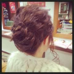 コンサバ モテ髪 ヘアアレンジ ゆるふわ ヘアスタイルや髪型の写真・画像