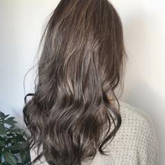 ロング デート バレイヤージュ 大人ハイライト ヘアスタイルや髪型の写真・画像