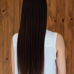 グレージュ 外国人風カラー 大人女子 ロング ヘアスタイルや髪型の写真・画像