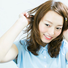 大人かわいい ナチュラル ゆるふわ パーマ ヘアスタイルや髪型の写真・画像