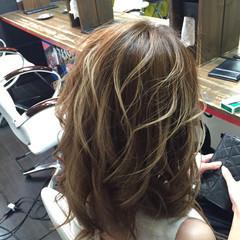 ゆるふわ 外国人風 渋谷系 ナチュラル ヘアスタイルや髪型の写真・画像