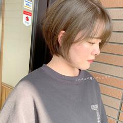 ウルフカット ショート ショートボブ フェミニン ヘアスタイルや髪型の写真・画像