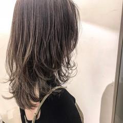 ナチュラル マッシュ 色気 ハイライト ヘアスタイルや髪型の写真・画像