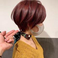 大人ショート マッシュショート 丸みショート ショート ヘアスタイルや髪型の写真・画像