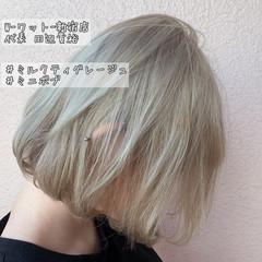 ミニボブ ボブ デート オフィス ヘアスタイルや髪型の写真・画像