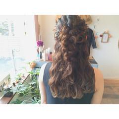 ヘアアレンジ ロング 大人かわいい ゆるふわ ヘアスタイルや髪型の写真・画像