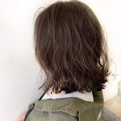 ボブ デート おフェロ 秋 ヘアスタイルや髪型の写真・画像