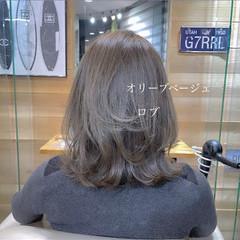 ボブ 大人かわいい フェミニン ロブ ヘアスタイルや髪型の写真・画像