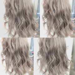 ハイライト 大人かわいい 外国人風 ミディアム ヘアスタイルや髪型の写真・画像