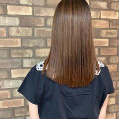 縮毛矯正 ナチュラル ミディアム ダメージレス ヘアスタイルや髪型の写真・画像