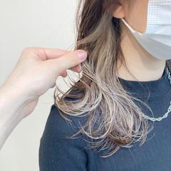 髪質改善 髪質改善トリートメント インナーカラー アンニュイほつれヘア ヘアスタイルや髪型の写真・画像
