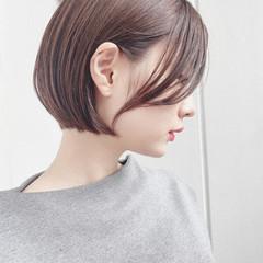 ショート デート 大人かわいい ナチュラル ヘアスタイルや髪型の写真・画像