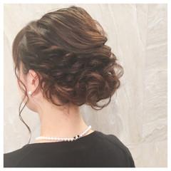 ゆるふわ 結婚式 かわいい 二次会 ヘアスタイルや髪型の写真・画像