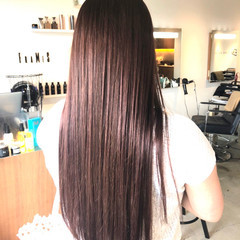 サラサラ ロング oggiotto ツヤツヤ ヘアスタイルや髪型の写真・画像