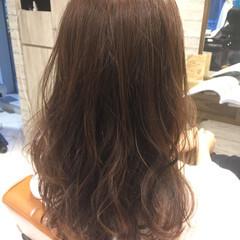 ピンク フェミニン 男ウケ セミロング ヘアスタイルや髪型の写真・画像
