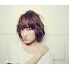 外国人風 春 モテ髪 ボブ ヘアスタイルや髪型の写真・画像