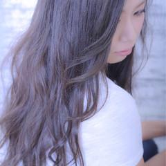 大人かわいい ストリート ロング 外国人風 ヘアスタイルや髪型の写真・画像