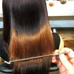 美髪 ナチュラル 髪質改善 縮毛矯正 ヘアスタイルや髪型の写真・画像