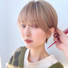 ショート ショートボブ ショートカット フェミニン ヘアスタイルや髪型の写真・画像